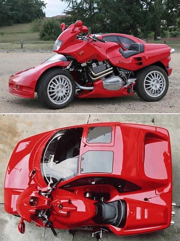 أنواع غريبة من السيارات في العالم 311