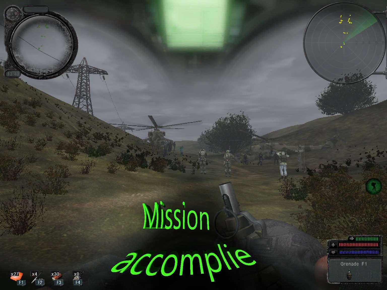 Faire appararître les deux hélicoptères à Agroprom 411