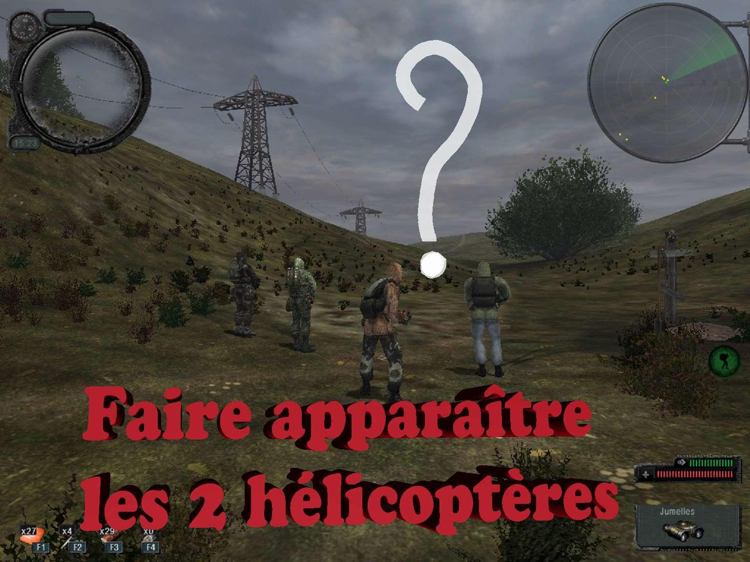 Faire appararître les deux hélicoptères à Agroprom Indust10