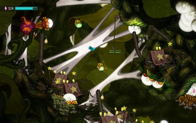 Review: Beatbuddy: Tale of The Guardians (Wii U eShop) 630x11