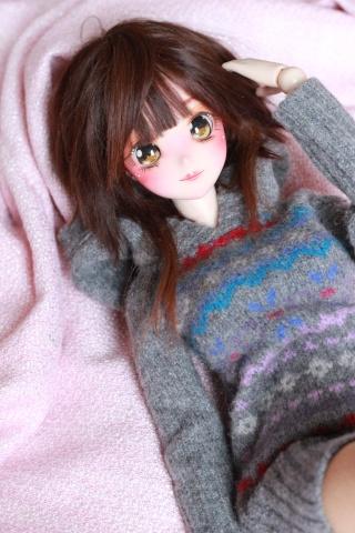 [ So doll ] - Wig méchée verte ! - Img_0813