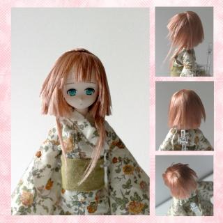 [ So doll ] - Wig méchée verte ! - Julie-10