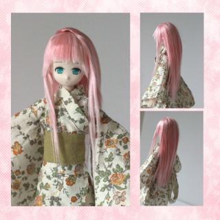 [ So doll ] - Wig méchée verte ! - Ruda-n10