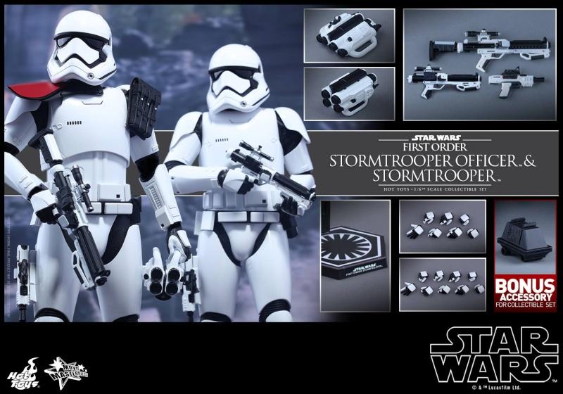 HOT TOYS - SW: TFA - First Order Stormtrooper Officer Set 11052410
