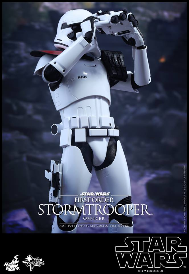 HOT TOYS - Star Wars: TFA - First Order Stormtrooper Officer 11986410