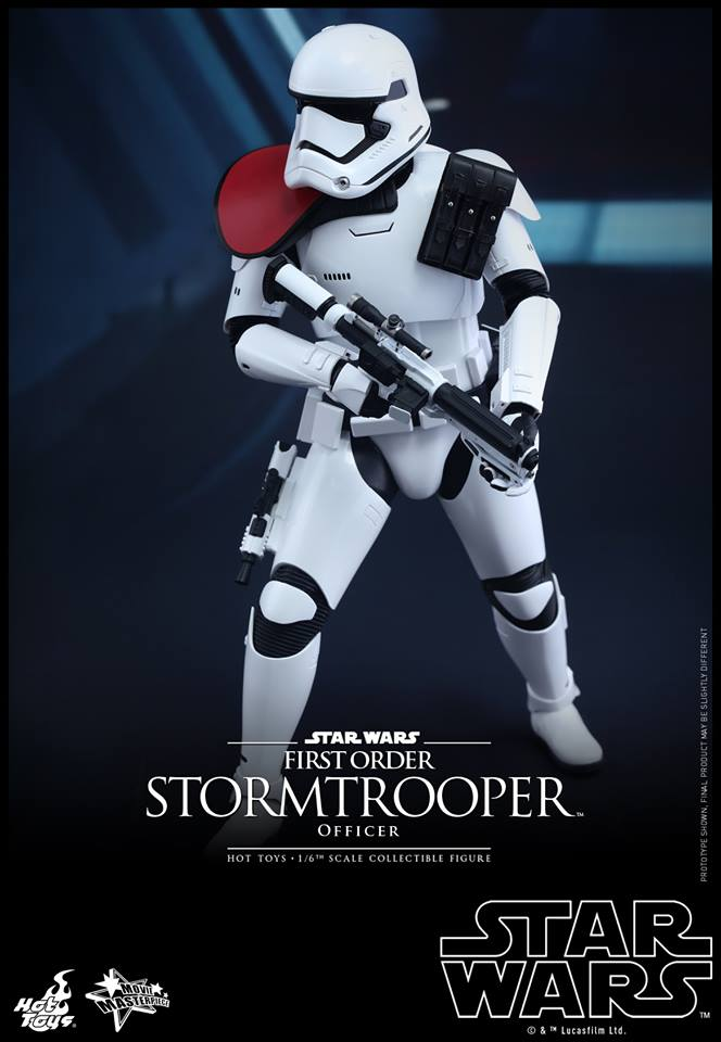 HOT TOYS - Star Wars: TFA - First Order Stormtrooper Officer 12279110