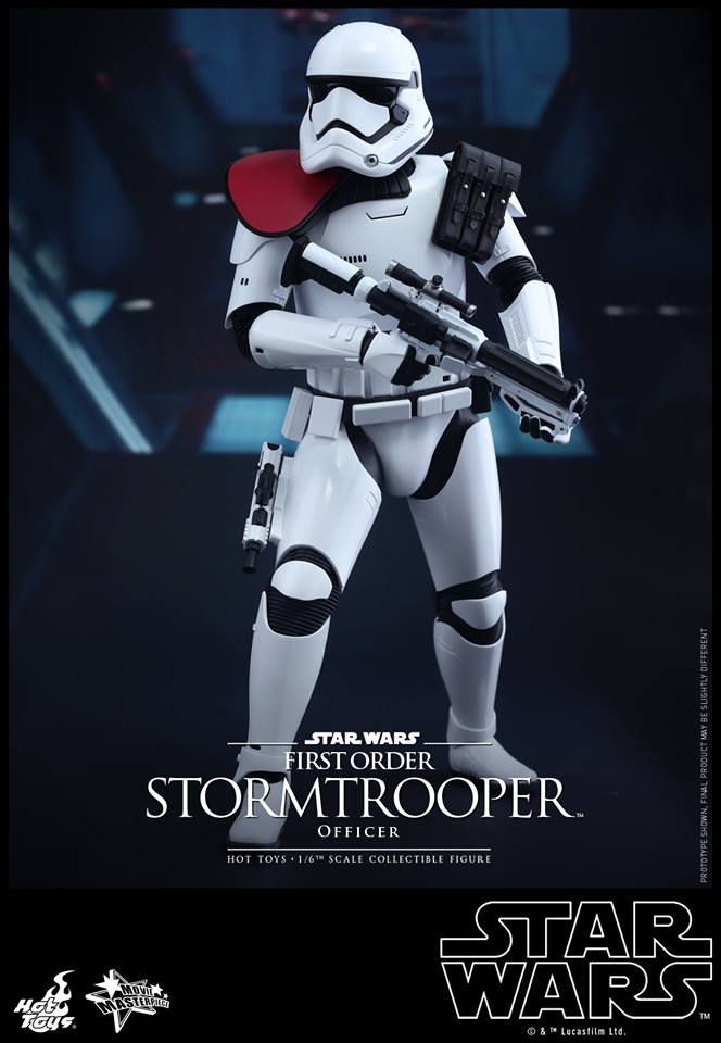 HOT TOYS - Star Wars: TFA - First Order Stormtrooper Officer 12279111