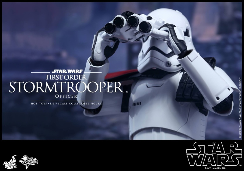 HOT TOYS - Star Wars: TFA - First Order Stormtrooper Officer 12291110