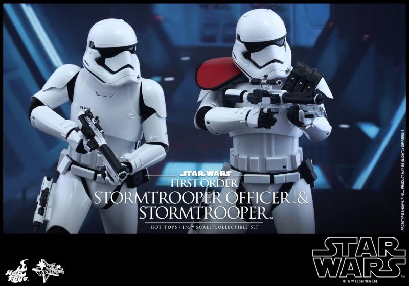 HOT TOYS - SW: TFA - First Order Stormtrooper Officer Set 12291610