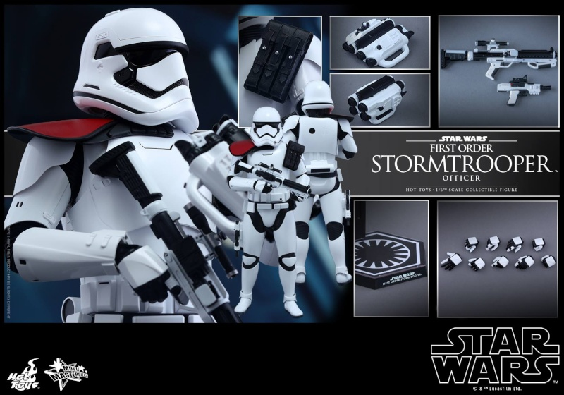HOT TOYS - Star Wars: TFA - First Order Stormtrooper Officer 12291810