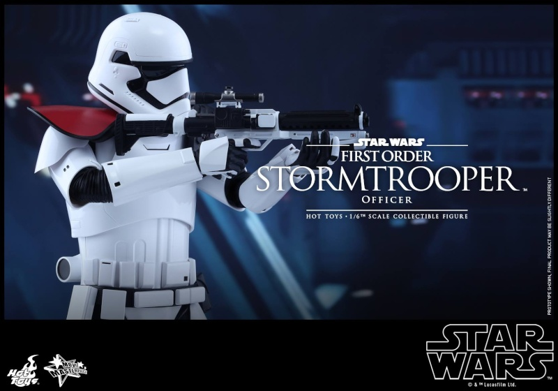 HOT TOYS - Star Wars: TFA - First Order Stormtrooper Officer 12304410