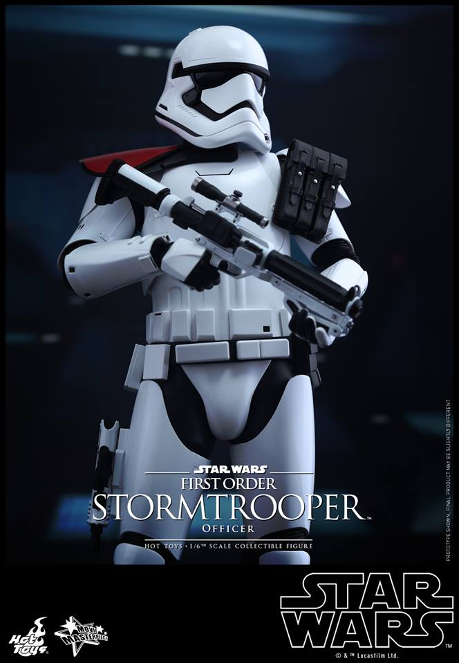 HOT TOYS - Star Wars: TFA - First Order Stormtrooper Officer 12308210