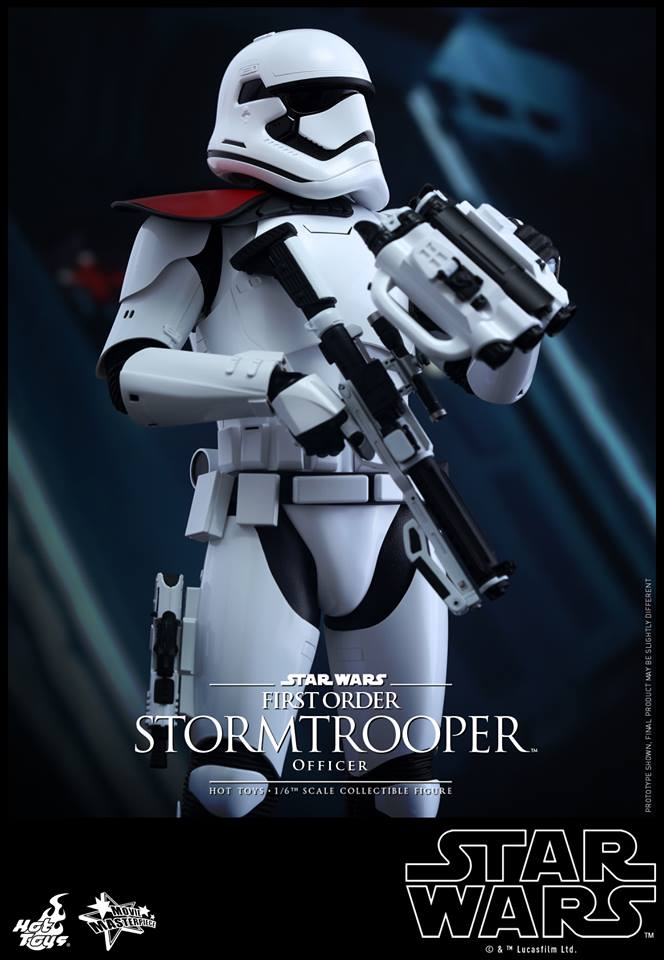 HOT TOYS - Star Wars: TFA - First Order Stormtrooper Officer 12313710