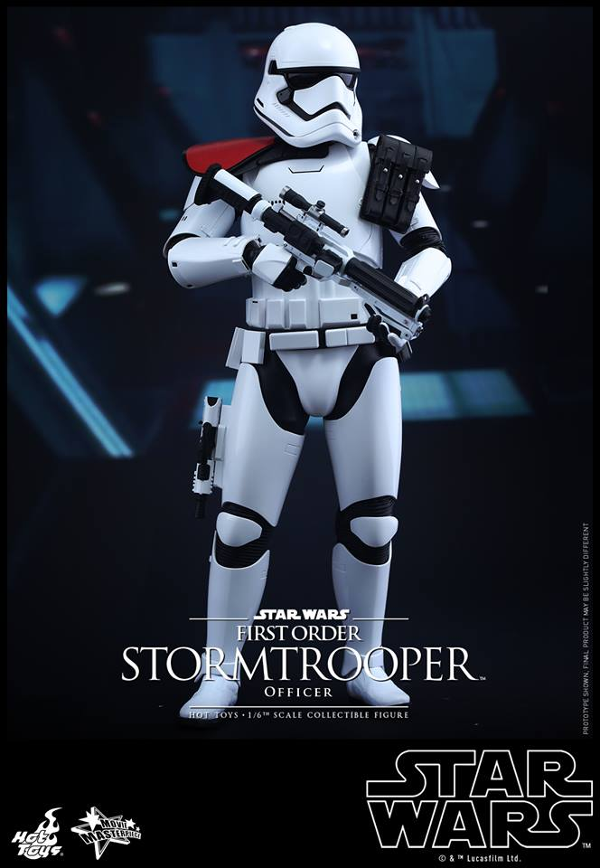 HOT TOYS - Star Wars: TFA - First Order Stormtrooper Officer 12313711