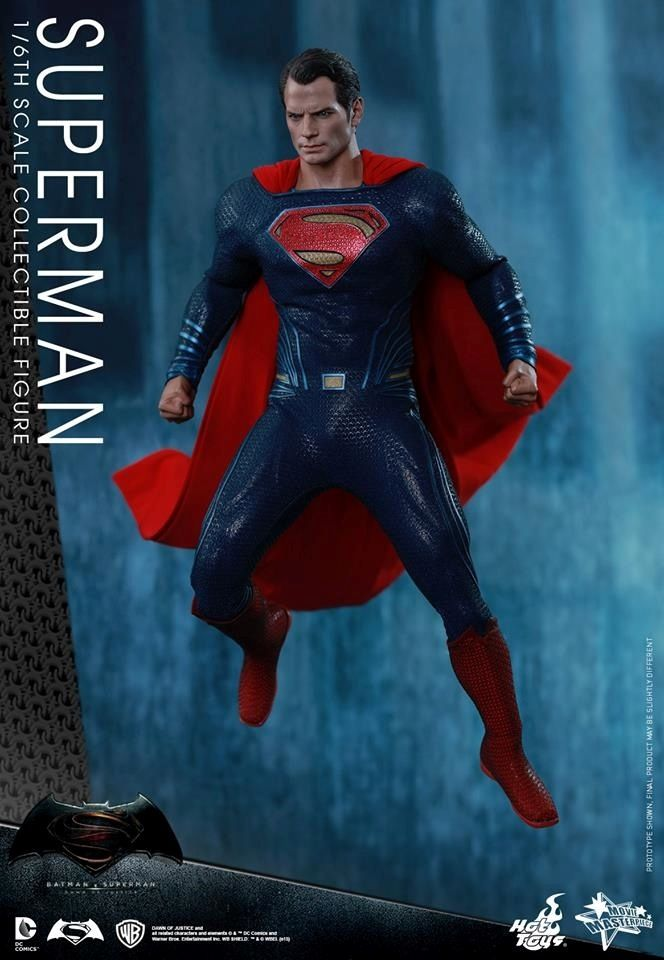 HOT TOYS - BvS : Dawn Of Justice - Superman Www10