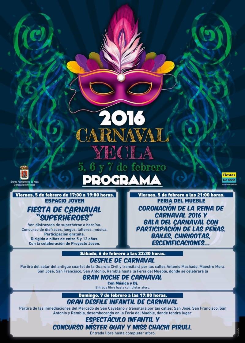 Carnaval 2016 Cartel10