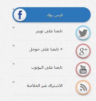 كود html مواقع التواصل الاجتماعي بشكل انيق 72126710