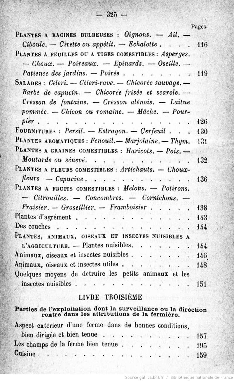 [PDF] Ouvrages anciens: Jardins ,Potagers, Cultures ,Economie Domestique Bonne_13