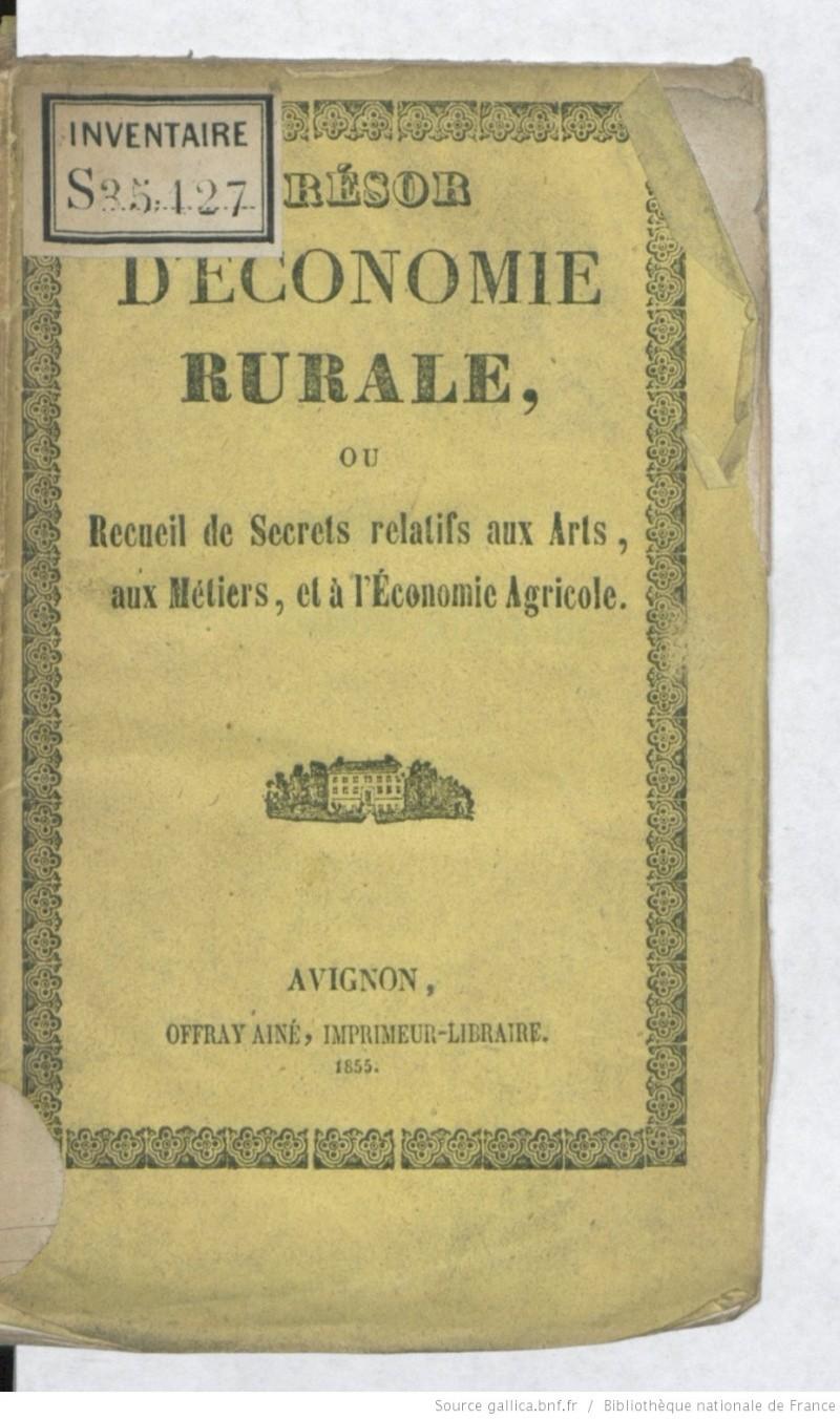 [PDF] Ouvrages anciens: Jardins ,Potagers, Cultures ,Economie Domestique Secret10