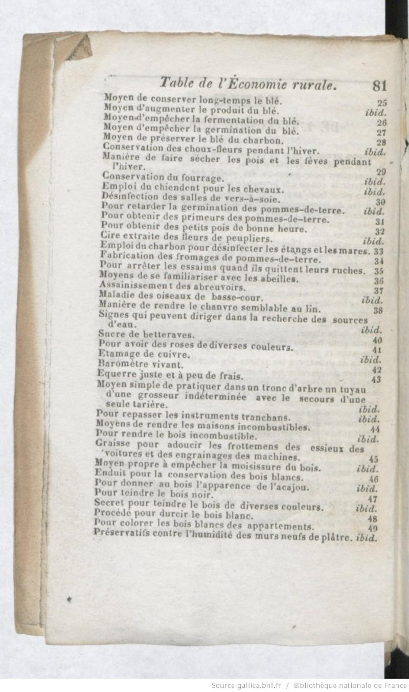 [PDF] Ouvrages anciens: Jardins ,Potagers, Cultures ,Economie Domestique Secret12