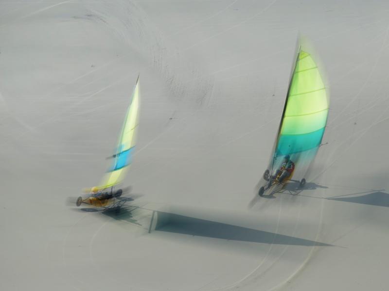 Chars à voile sur la côte d'opale P1030710