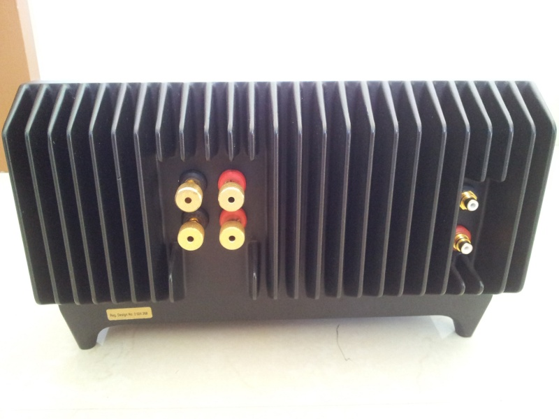 Trichord ALECTO MKII England Made Audiophile Stereo Power Amplifier ( Used) 20151263