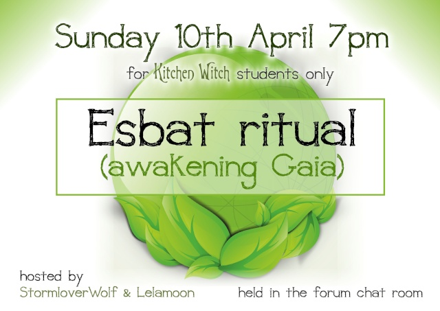 Esbat ritual Sunday April 10th 7pm Esbat_10