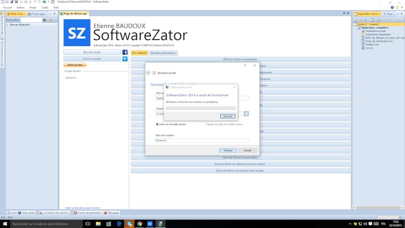 [ALTERNATIVE] Réparer le bug de plantage de SZ2014 (a cessé de fonctionné) 1d3a3f10