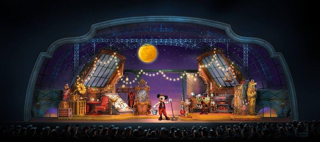 Mickey et le Magicien 12418813