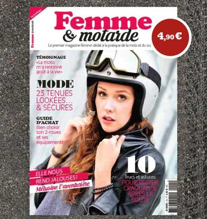 Nouvelle publication « Femme et motarde » : elles ont enfin leur magazine! Femme_10