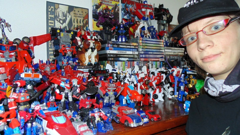 Entrevue N°1 pour TransformersFR: Optimus SG Dsc05112
