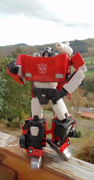 Entrevue N°1 pour TransformersFR: Optimus SG Dsc05210