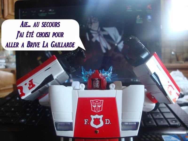 Entrevue N°1 pour TransformersFR: Optimus SG Dsc07310