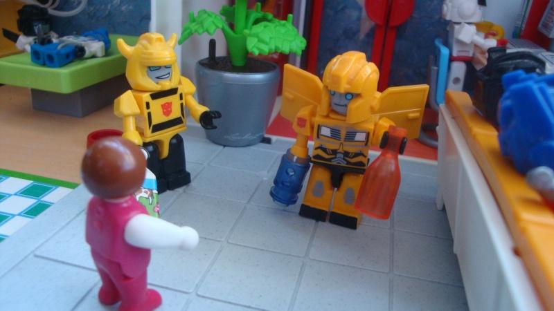 Entrevue N°1 pour TransformersFR: Optimus SG Dsc08410