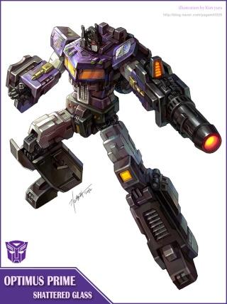 Entrevue N°1 pour TransformersFR: Optimus SG Shatte10