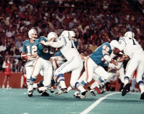 Dolphins vs. Colts 8/29/70 Screen10