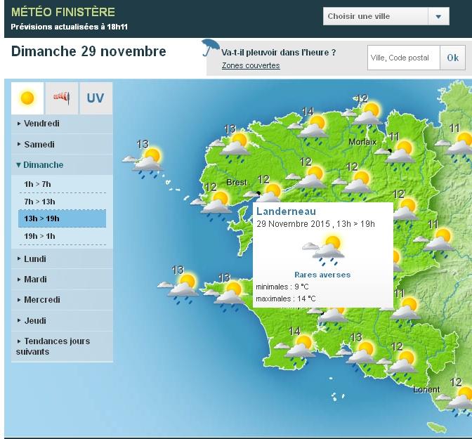 TELETHON 2015 à Landerneau Nouvel12