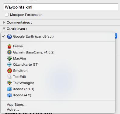 Comment Ouvrir un tracé automatiquement sur Google Earth  Captur15