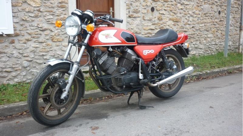 CHARGE SUR MA 500 Morini13
