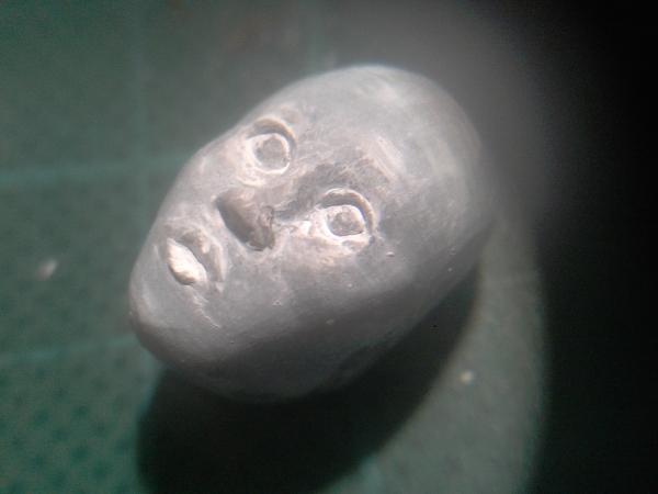 Eigenbau Amazone 11cm Figur029