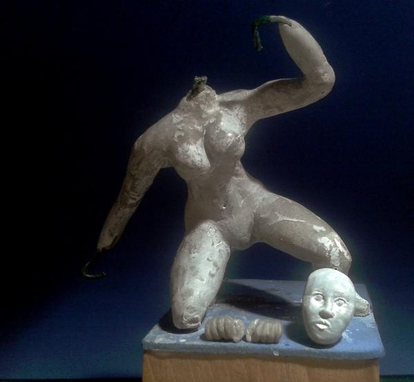 Eigenbau Amazone 11cm Figur032