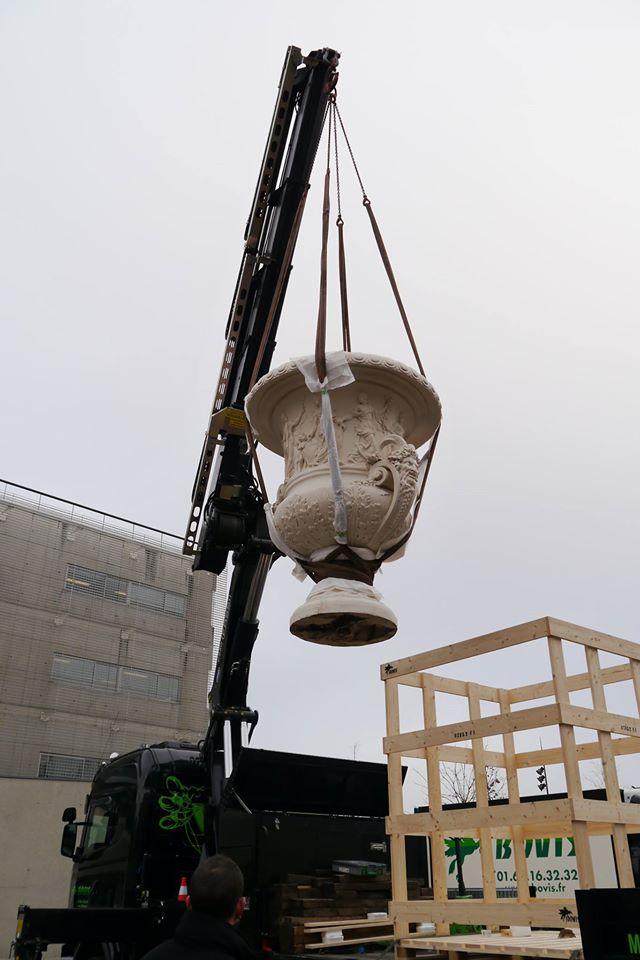 Visite à l'atelier de restauration des sculptures du C2RMF - Page 2 12357010