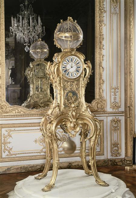 Au coeur de l'Histoire Passemant & les horloges à Versailles 64-00010