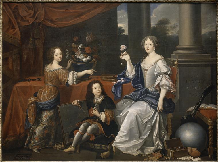 Héritage de Louis XIV dans l'histoire de la mode & textiles 69-00010