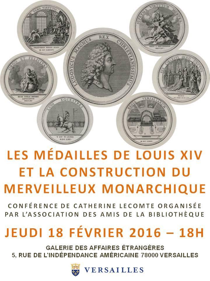 Conférence à la BMV : Les médailles de Louis XIV 94407310