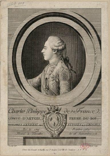 Fontainebleau : expo Le Dauphin, l'artiste et le philosophe Charle14