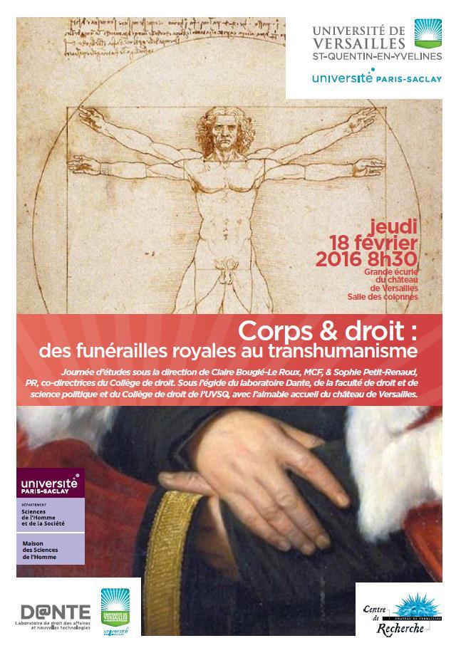 Corps & Droit - Des funérailles royales au transhumanisme Corps-10