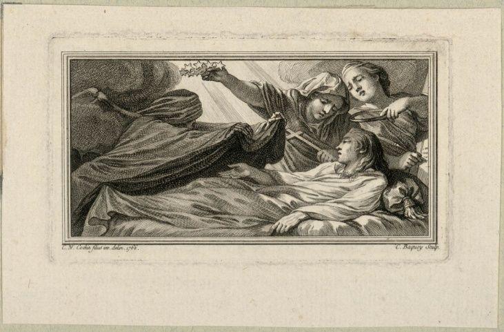 Fontainebleau : expo Le Dauphin, l'artiste et le philosophe - Page 2 Mort_d10