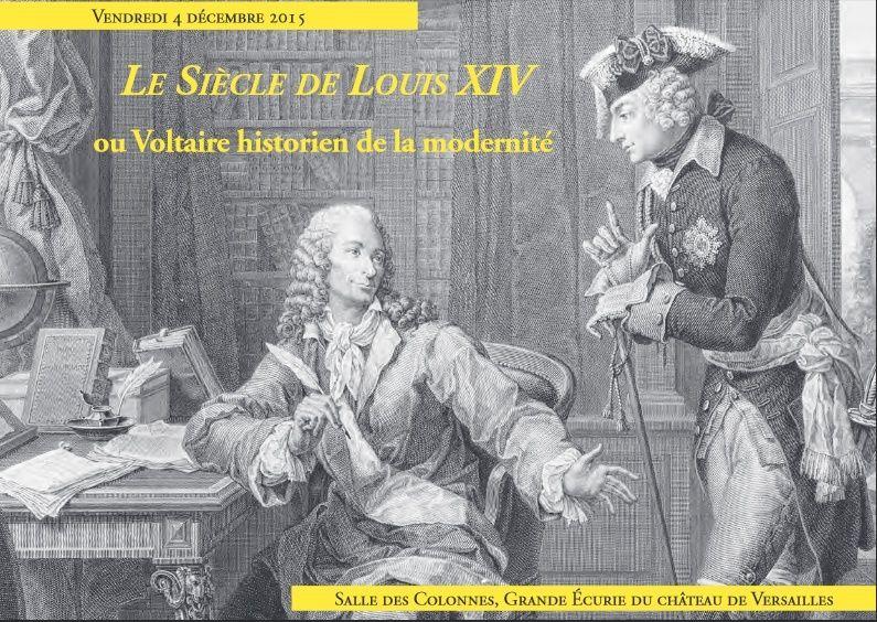 Le Siècle de Louis XIV, Voltaire historien de la modernité Voltai10