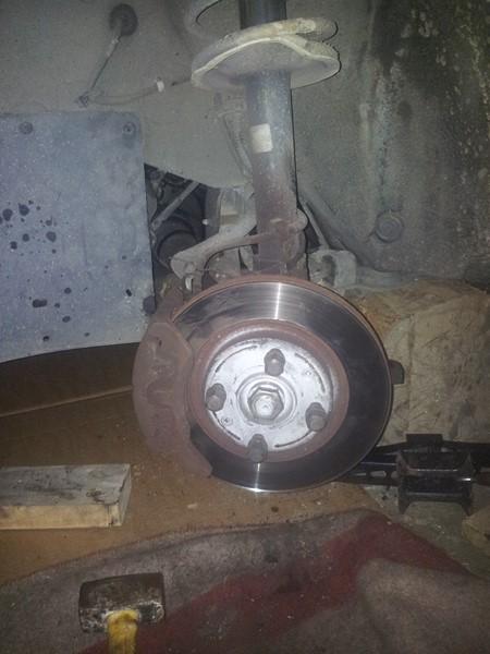 demontage moteur boite pour bonne révision 2015-111
